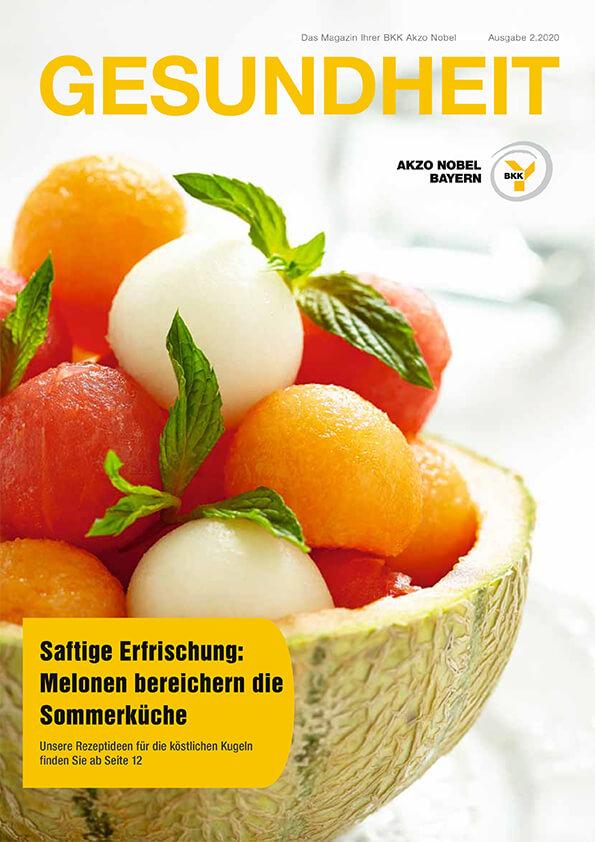 Titelseite der BKK Akzo Nobel Ausgabe 2-2020